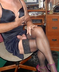 Cock loving cross dressers