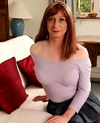 Lucimay knows just how to work a sexy little mini skirt